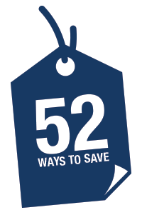 52 Ways to Save Icon