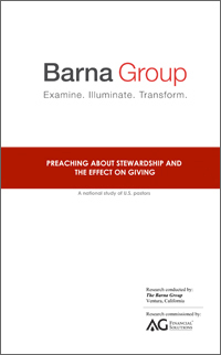 Visual of the Barna Study Research