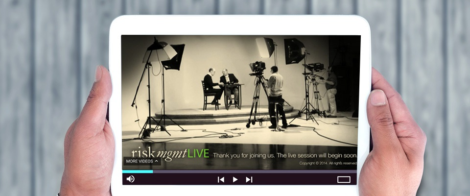 Watch: Special Edition of riskmgmtLIVE from Northern California/Nevada District Council